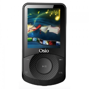 MP3 SRM-8580B MULTIMEDIA 8GB ΜΑΥΡΟ OSIO