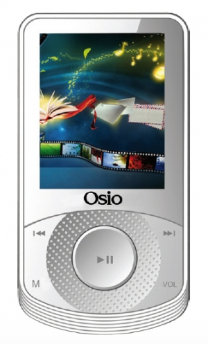 MP3 SRM-8580W MULTIMEDIA 8GB ΛΕΥΚΟ OSIO